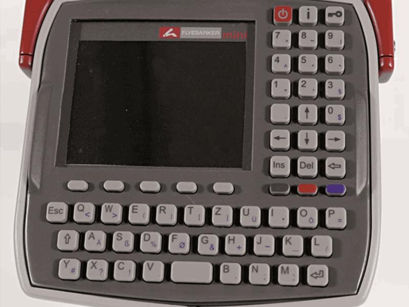 FlyMarker® Mini Ekran i Klawiatura