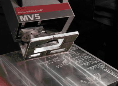 Metalowa obudowa znakowarki pneumatycznej