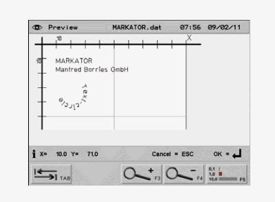 Oprogramowanie znakowarki pneumatycznej MV5