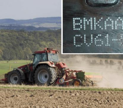 Znakowanie maszyn rolniczych