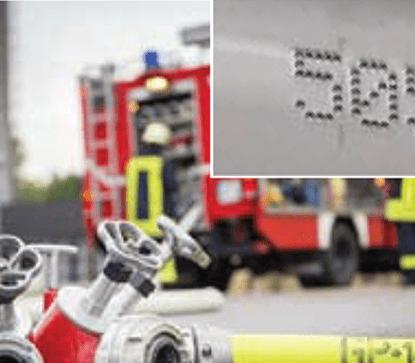 Znakowanie w straży pożarnej