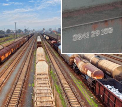 Znakowanie w transporcie kolejowym