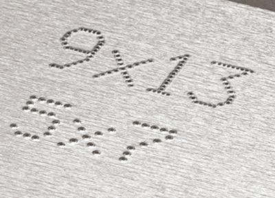 Znakowarka igłowa znarkowanie numerów