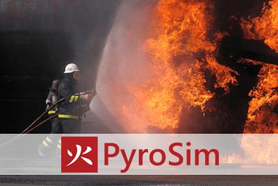 Program do symulacji rozwoju pożaru PyroSim